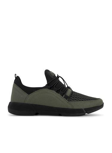 Slazenger Slazenger TIER Yürüyüş Erkek Ayakkabı K. Haki